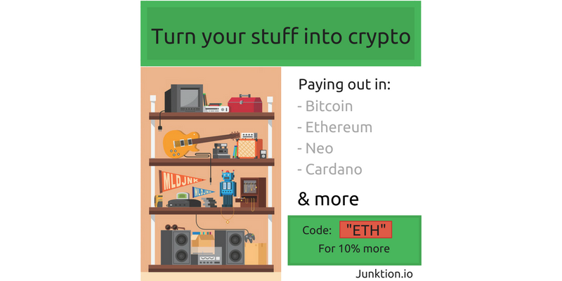 The cryptocurrency pawn shop: How to sell anything for Bitcoin
