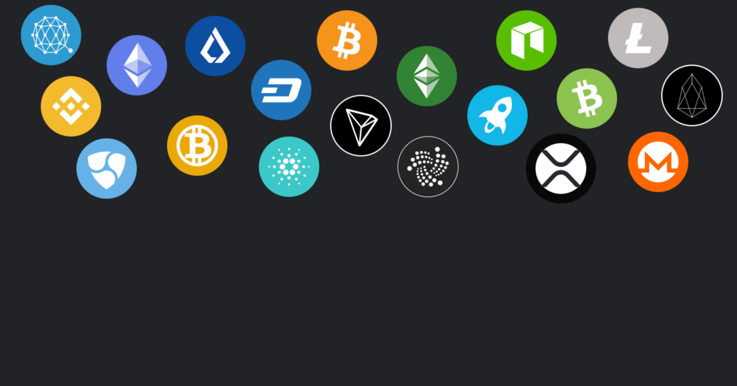 Cryptocurrency selling platform for items and physical goods